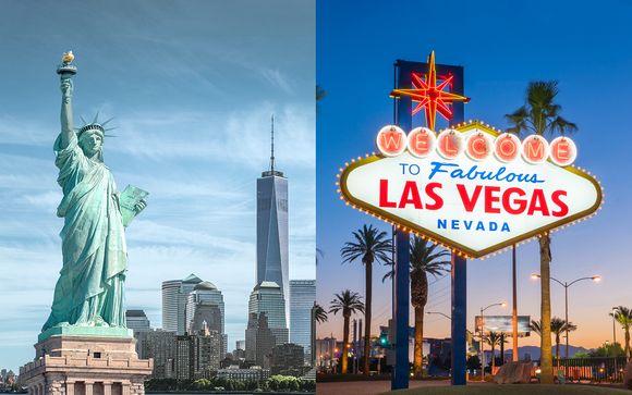 New York et Las Vegas en 4*