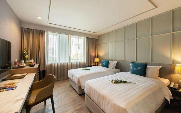 Poussez les portes de l'hôtel Well Hotel Bangkok 5*