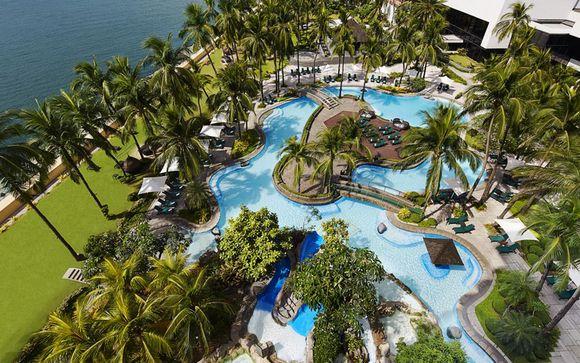 Poussez les portes de l'hôtel Sofitel Philippines Plaza 5* à Manille