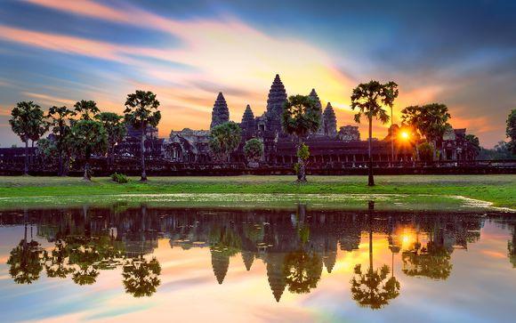 Circuit Privatif les Merveilles du Cambodge avec extension possible