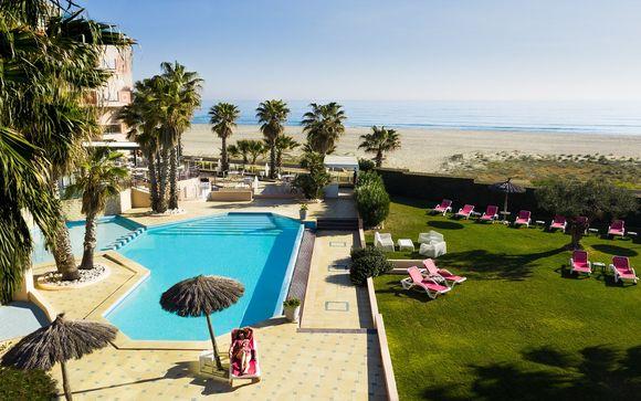 Poussez les portes de l'hôtel Les Flamants Roses à Canet-en-Roussillon