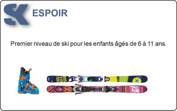 La location du matéreil de ski
