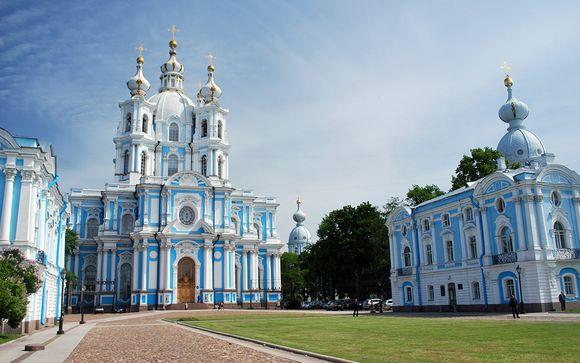 Zoom sur votre programme au départ de Saint-Pétersbourg