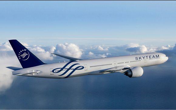Voyagez avec SkyTeam, l'alliance de compagnies aériennes