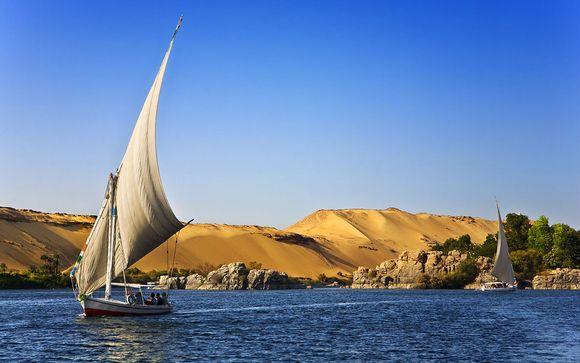 Combiné Rêverie du Nil et/ou séjour balnéaire hôtel Citadel Azur 5*