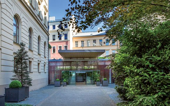 Poussez les portes de l'hôtel Boscolo Prague, Autograph Collection 5*