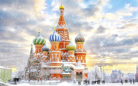 Russie Moscou - Circuit Moscou - Saint-Petersbourg en 4* ou 5* à partir de 622,00 € (622.00 EUR€)