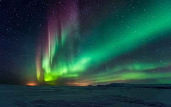 Safari Neige et Aurores Boréales entre Finlande et Russie