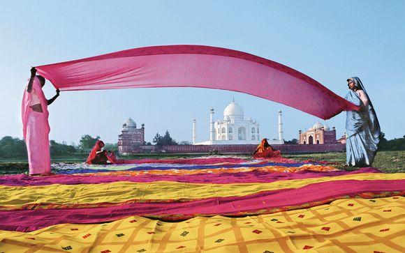 Dans les pas des Maharajas : palais et Taj Mahal