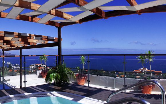 Balcon sur l'océan en intimité