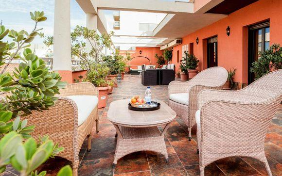 Poussez les portes de l'Hôtel & Spa Cadiz Plaza 4*