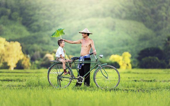 Rencontres authentiques au fil des rizières