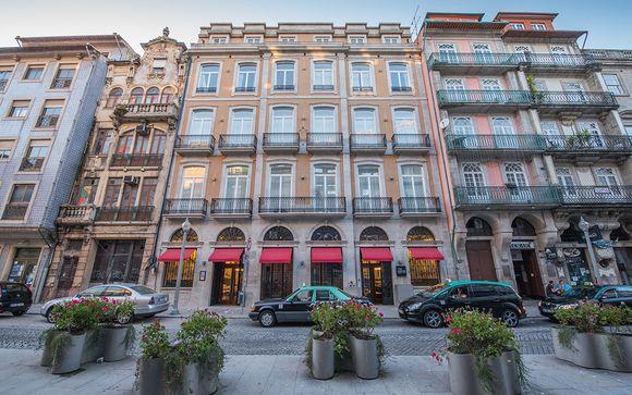 Poussez les portes du The House Ribeira Porto Hotel 4*