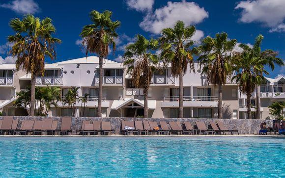 Poussez les portes de votre hôtel en chambre Supérieure Vue Mer