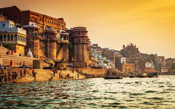 Enchantement du Taj Mahal aux rives du Gange