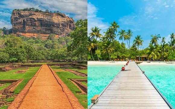 Circuit privatif Sri Lanka et s�jour baln�aire aux Maldives