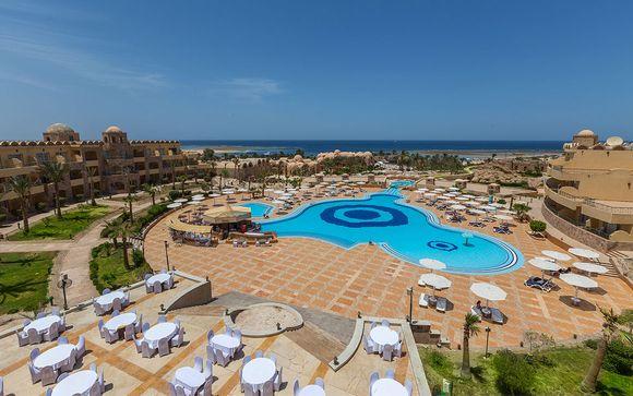 Utopia Beach Club 4*  et possible croisière Splendeurs du Nil 5*