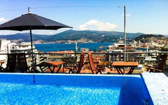Poussez les portes de l'hôtel Axis Vigo 4*