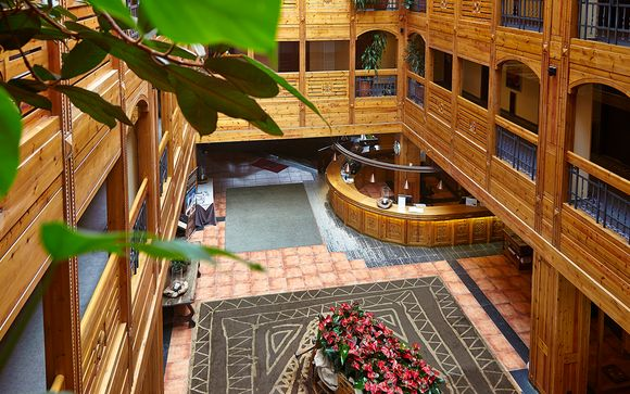 Poussez les portes de l'Hotel Sport Village 4*