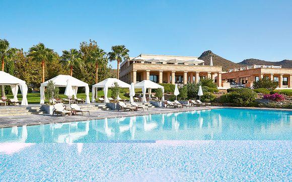 Poussez les portes de l'hôtel Cape Sounio Grecotel Exclusive Resort 5*