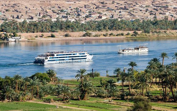Croisière sur le Nil et Coral Sun Beach Hôtel  4*