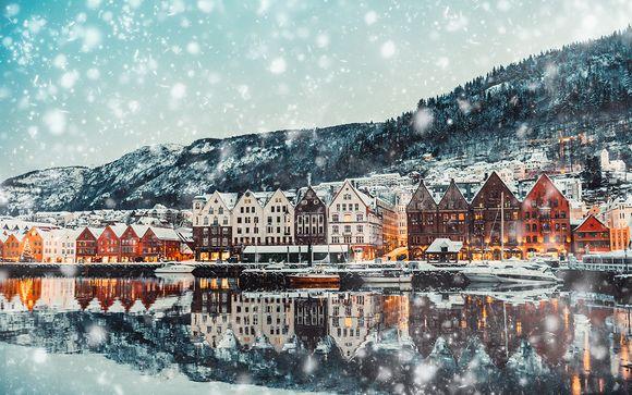 Circuit 6 nuits/7 jours en Norvège et Nouvel An sur le fjord