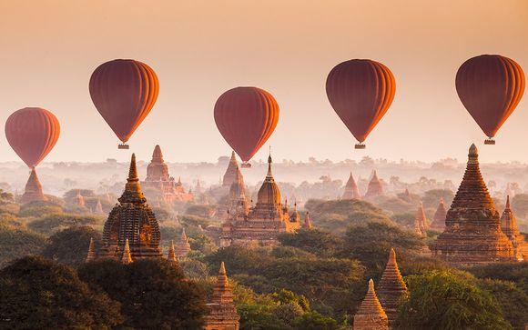 Circuit privatif Merveilles de Birmanie et extension possible