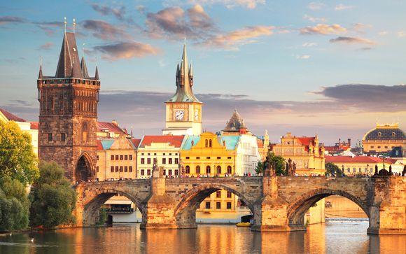 Halte au cœur de la ville - Prague -
