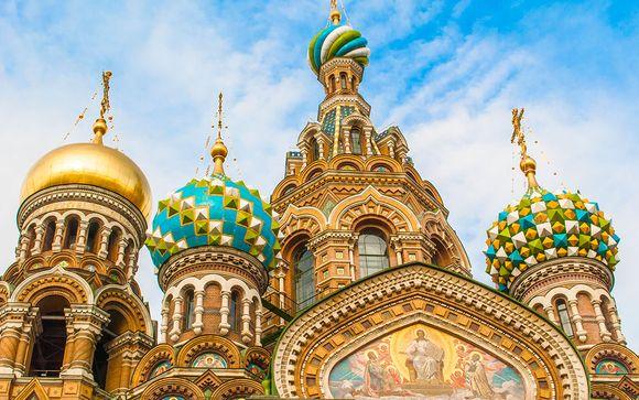 Instants luxueux dans la Venise du Nord  - Saint Petersbourg -