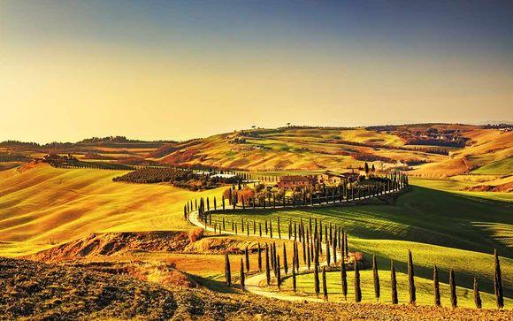 Autotour les Mille couleurs de la Toscane en 4*