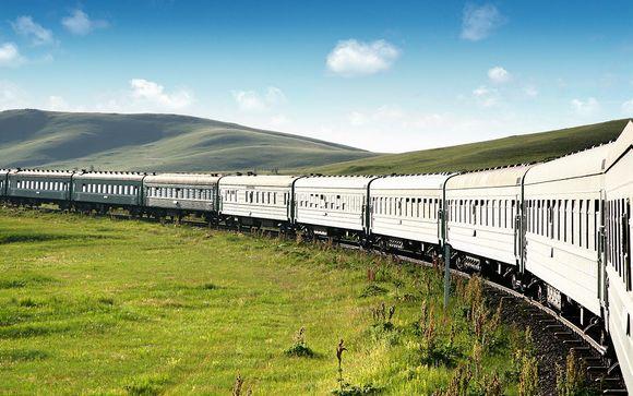 Aventure mythique à bord du train des steppes