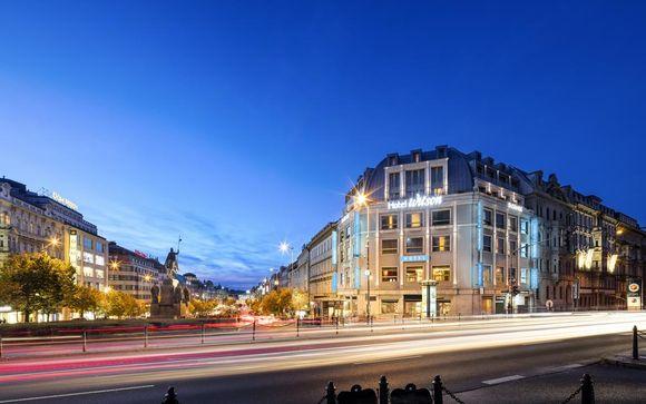 Hôtel intimiste sur la place Venceslas - Prague -
