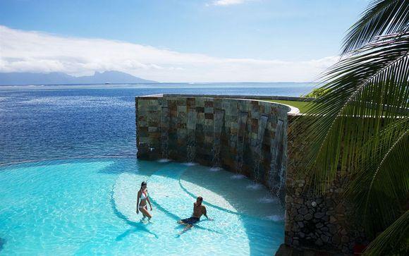 Poussez les portes de l'hôtel Manava Suite Resort Tahiti 4*