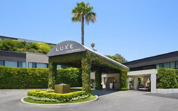 Poussez les portes de l'hôtel Luxe Sunset Boulevard 4* à Los Angeles