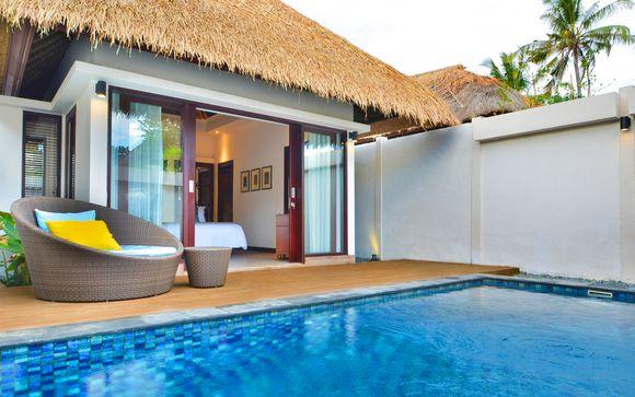 Poussez les portes de l'hôtel Lembongan Beach Resort 5*