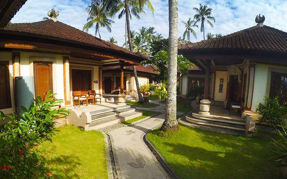 Poussez les portes de l'hôtel Puri Bagus Candidasa 4*