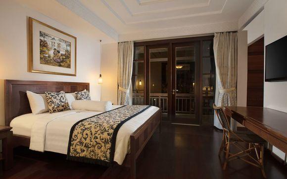 Poussez les portes de l'hôtel The Patra Bali Resort & villas 5*