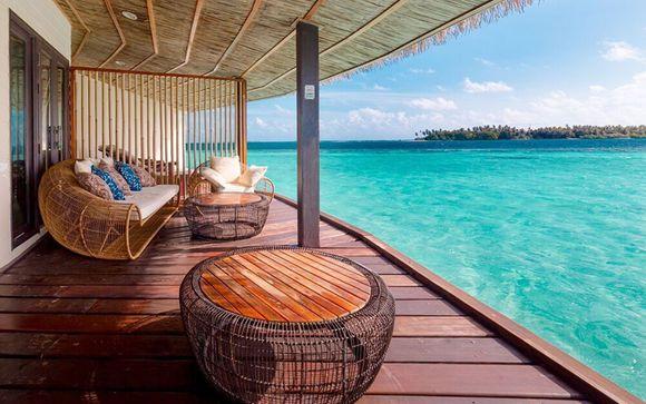 Refuge paradisiaque face à l'océan Indien