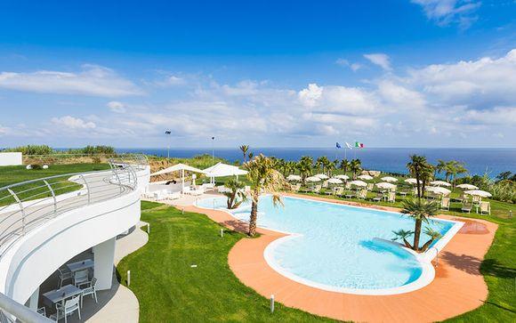 Poussez les portes de l'hôtel Infinity Resort Tropea 4*