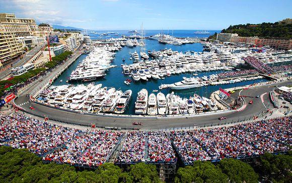 Grand Prix de Formule 1 de Monaco et hôtel Aston La Scala 4*