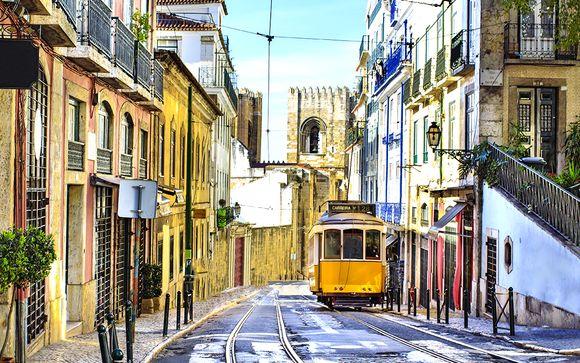 Neya Lisboa Hôtel 4* et visite guidée de la ville