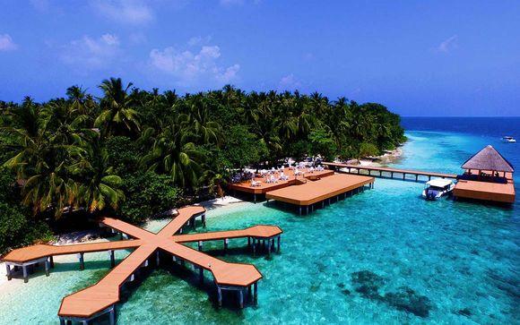 Votre extension au Fihalhohi Island Resort Maldives 4*