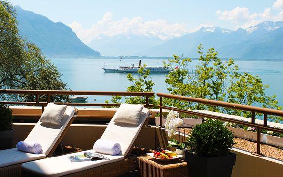 Suisse Montreux - Hôtel Royal Plaza Montreux & Spa 5* à partir de 100,00 €