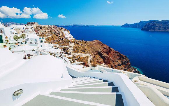 Perdez-vous dans un décor blanc et bleu...