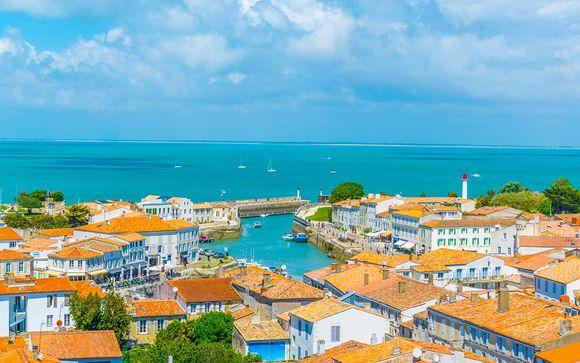 Escale au paradis français posé sur l'océan