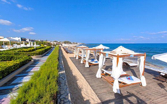 Horizon de rêve sur la mer Égée