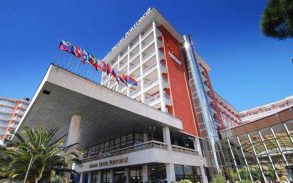 Poussez les portes du Grand Hotel Portoroz 4* à Portoroz