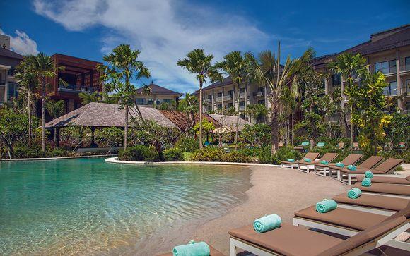 Poussez les portes de l'Hôtel Mövenpick Resort & Spa Jimbaran 5*