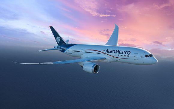 Offrez-vous le luxe d'un vol en classe affaires avec Aeromexico