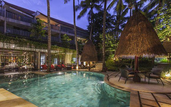 Poussez les portes de l'hôtel Kupu Kupu Jimbaran 5* à Jimbaran